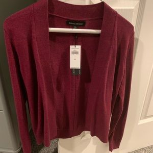 Banana republic cropped cardigan. Nwt